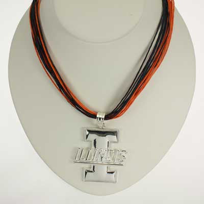 Seasons Jewelry Illinois Logo Multi-Cord 18