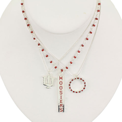 Seasons Jewelry Indiana Trio Necklace