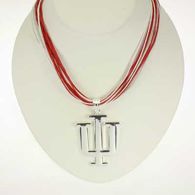 Seasons Jewelry Indiana Logo Multi-Cord 18