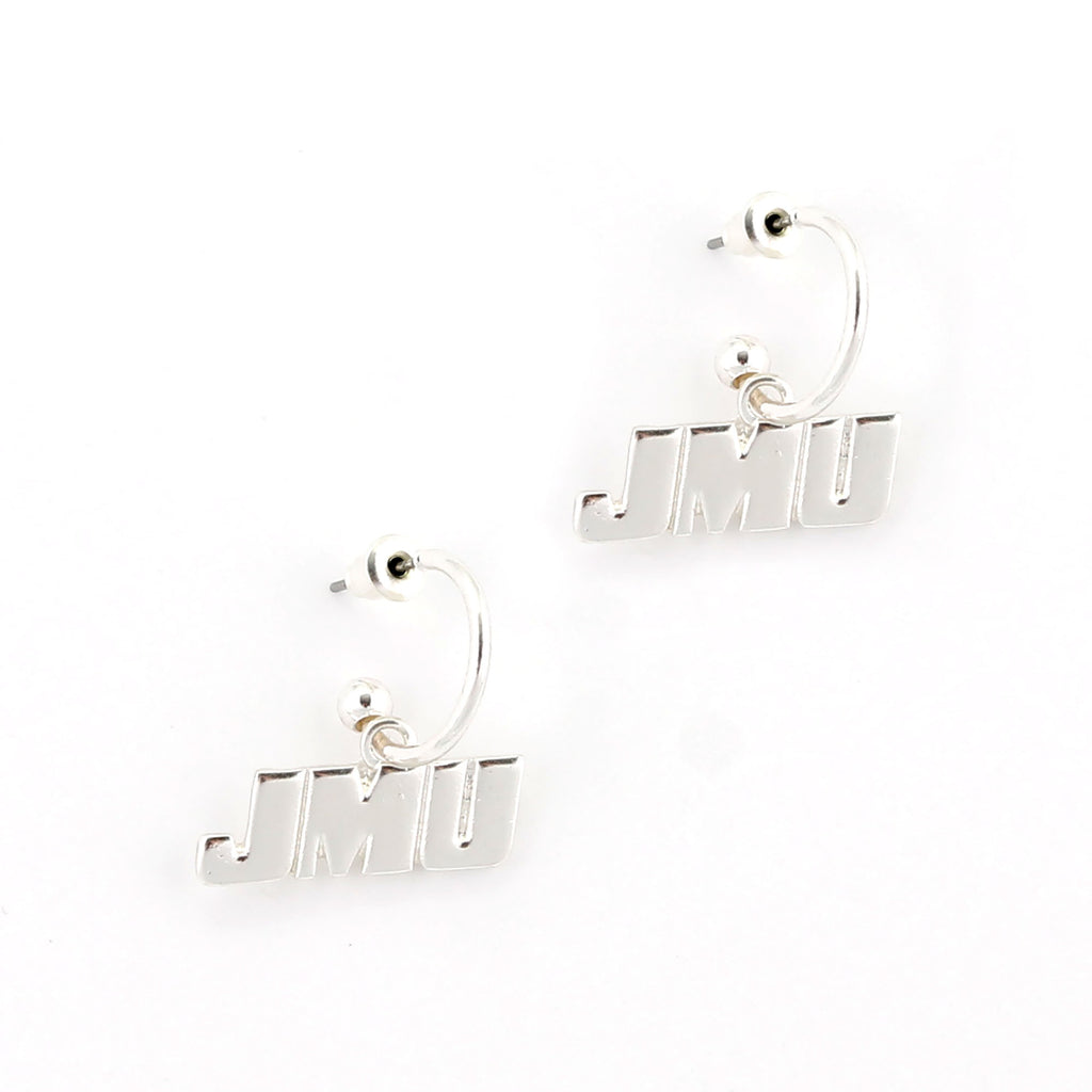 JMU Logo Hoop Earrings