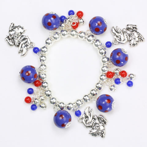 Kansas Bauble Stretch Bracelet