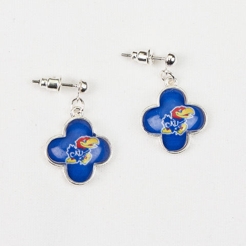 Kansas Quatrefoil Earrings