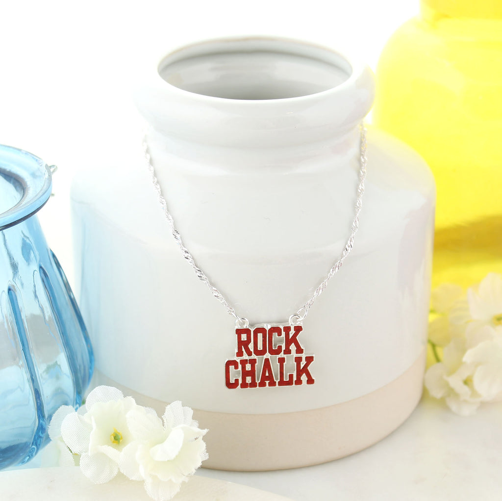 Kansas Slogan Necklace