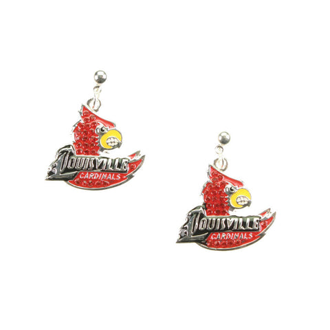 Seasons Jewelry Louisville Crystal Logo Earrings