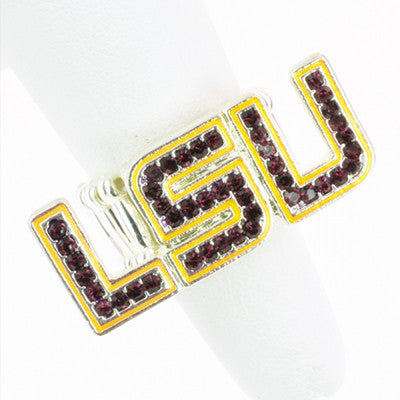 Seasons Jewelry LSU Stretch Ring