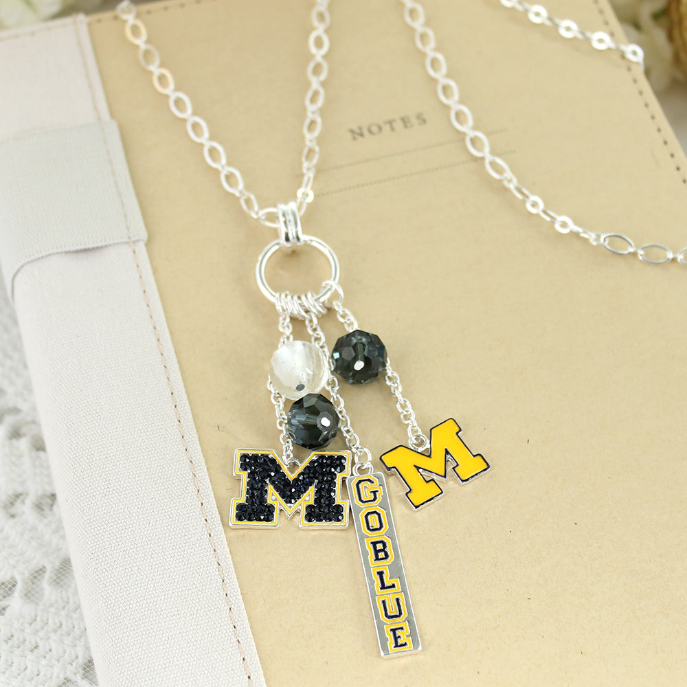 Michigan Cluster Necklace