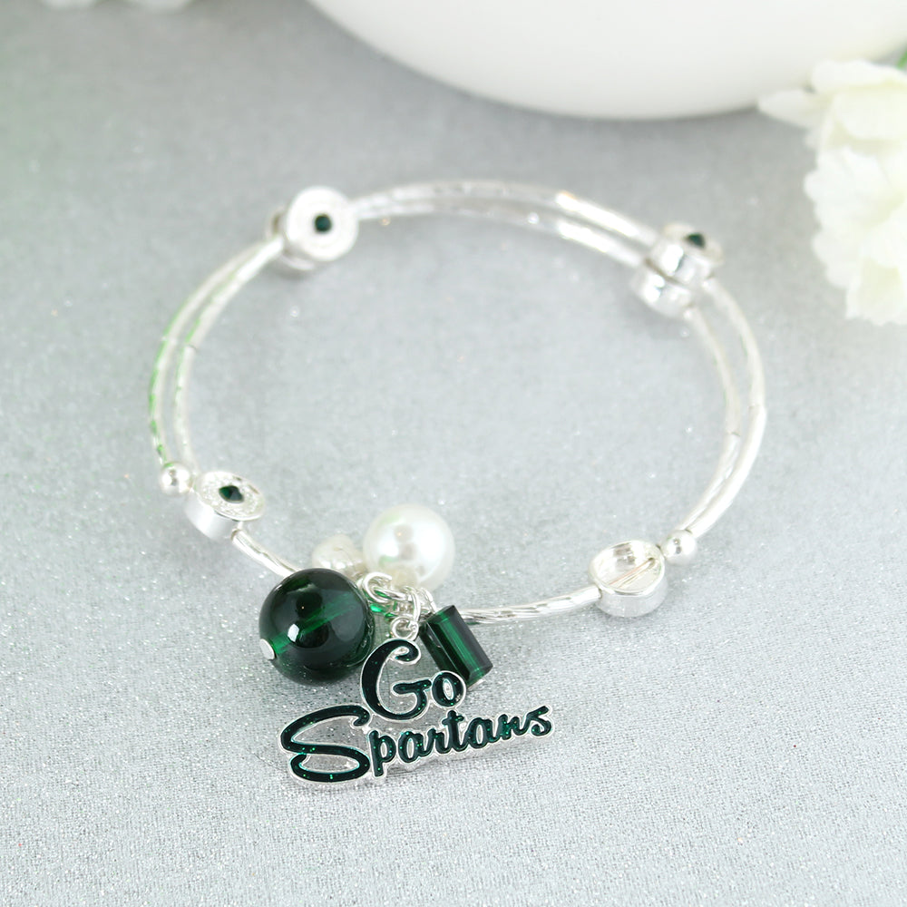 Michigan State Slogan Bracelet
