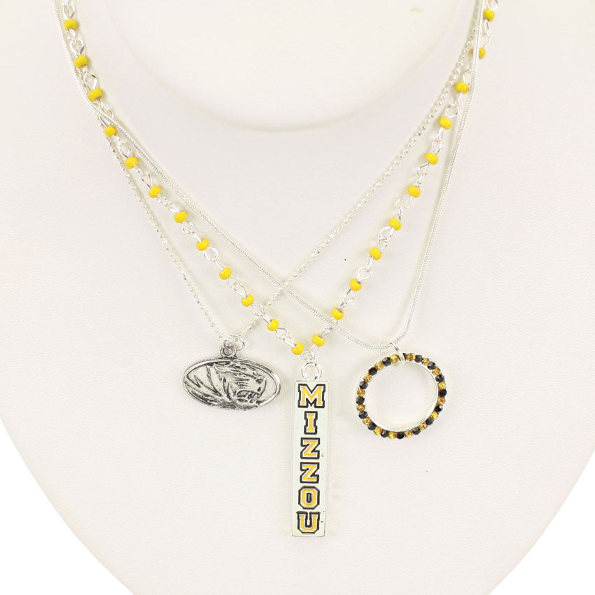 Seasons Jewelry Missouri Trio Necklace