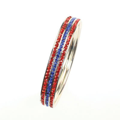 Seasons Jewelry Collegiate Mississippi Bangle Bracelet