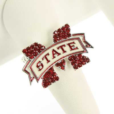 Seasons Jewelry Mississippi State Stretch Ring