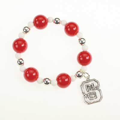Seasons Jewelry NC State Stretch Bracelet