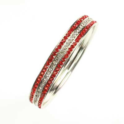 Seasons Jewelry NC State Bangle Bracelet