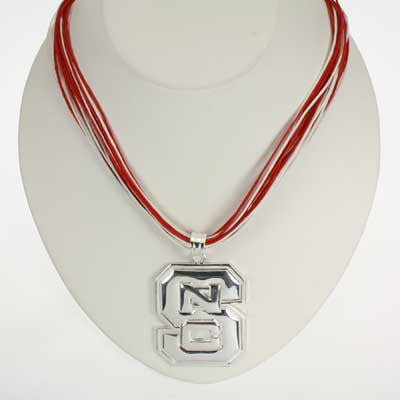 Seasons Jewelry NC State Logo Multi-Cord 18