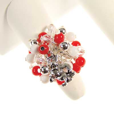 Seasons Jewelry NC State Logo Bauble Ring