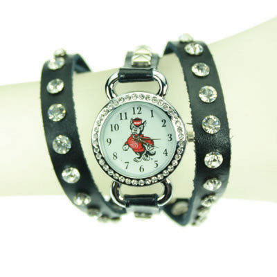 Seasons Jewelry NC State Logo Wrap Watch