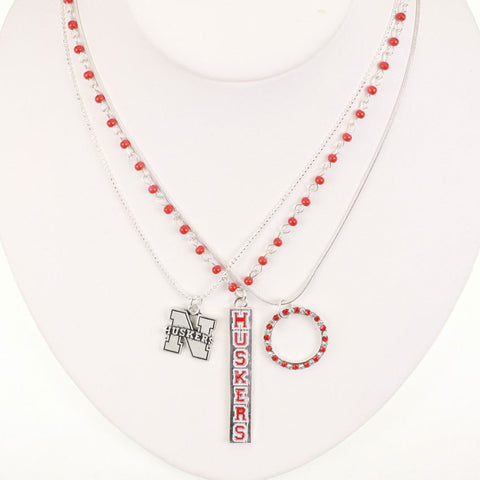Seasons Jewelry Nebraksa Trio Necklace