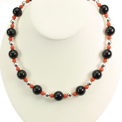 Seasons Jewelry Oklahoma State Beaded Stretch Necklace