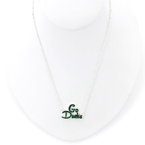 Oregon Slogan Necklace