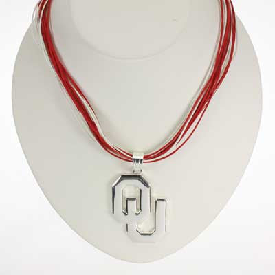Seasons Jewelry Oklahoma Logo Multi-Cord 18