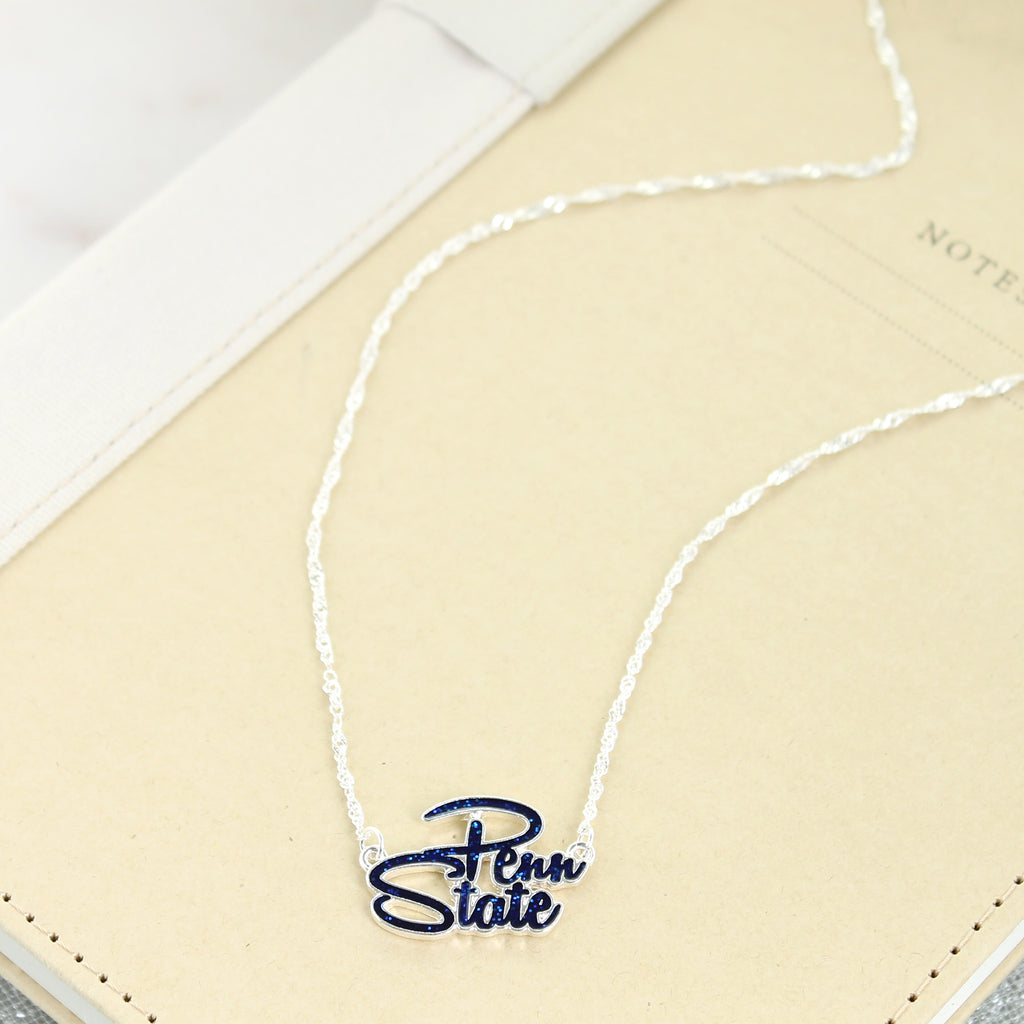 "17"" Penn State Slogan Necklace"