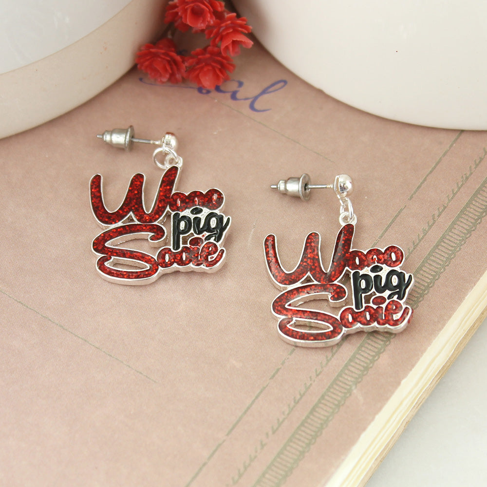 Arkansas Slogan Earrings