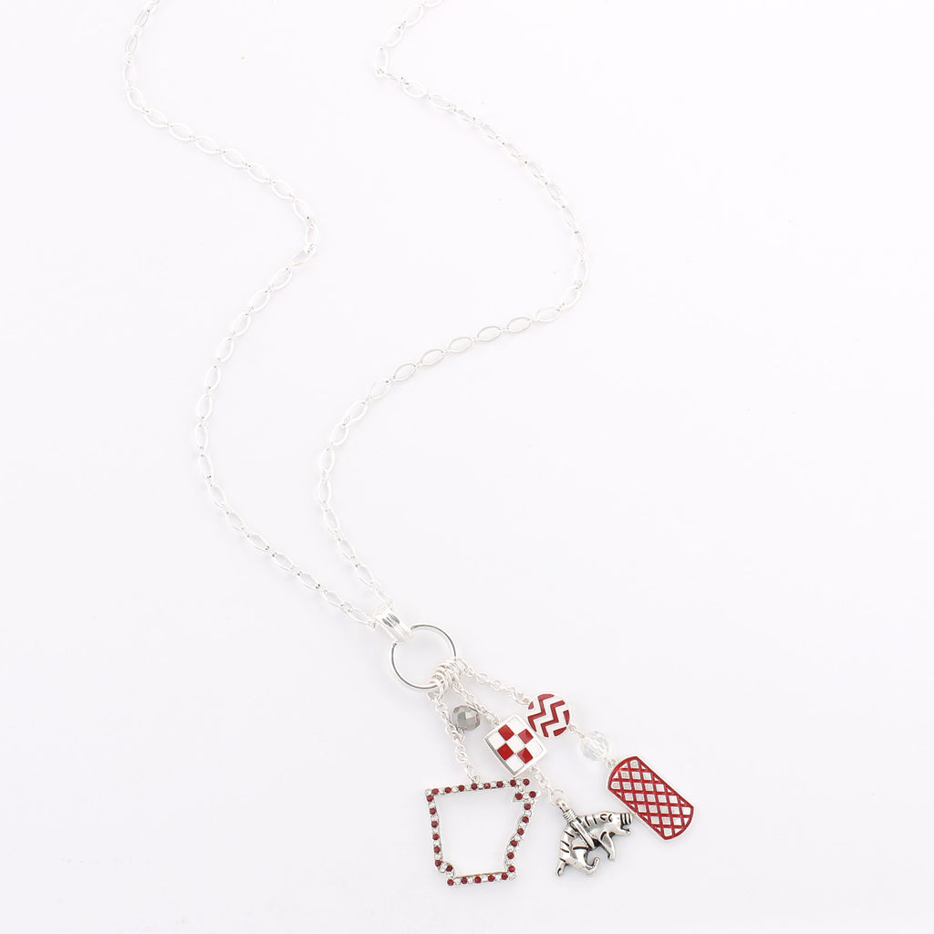 Arkansas Traditions Cluster Necklace