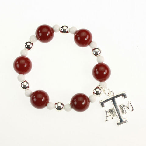 Texas A&M Logo Stretch Bracelet