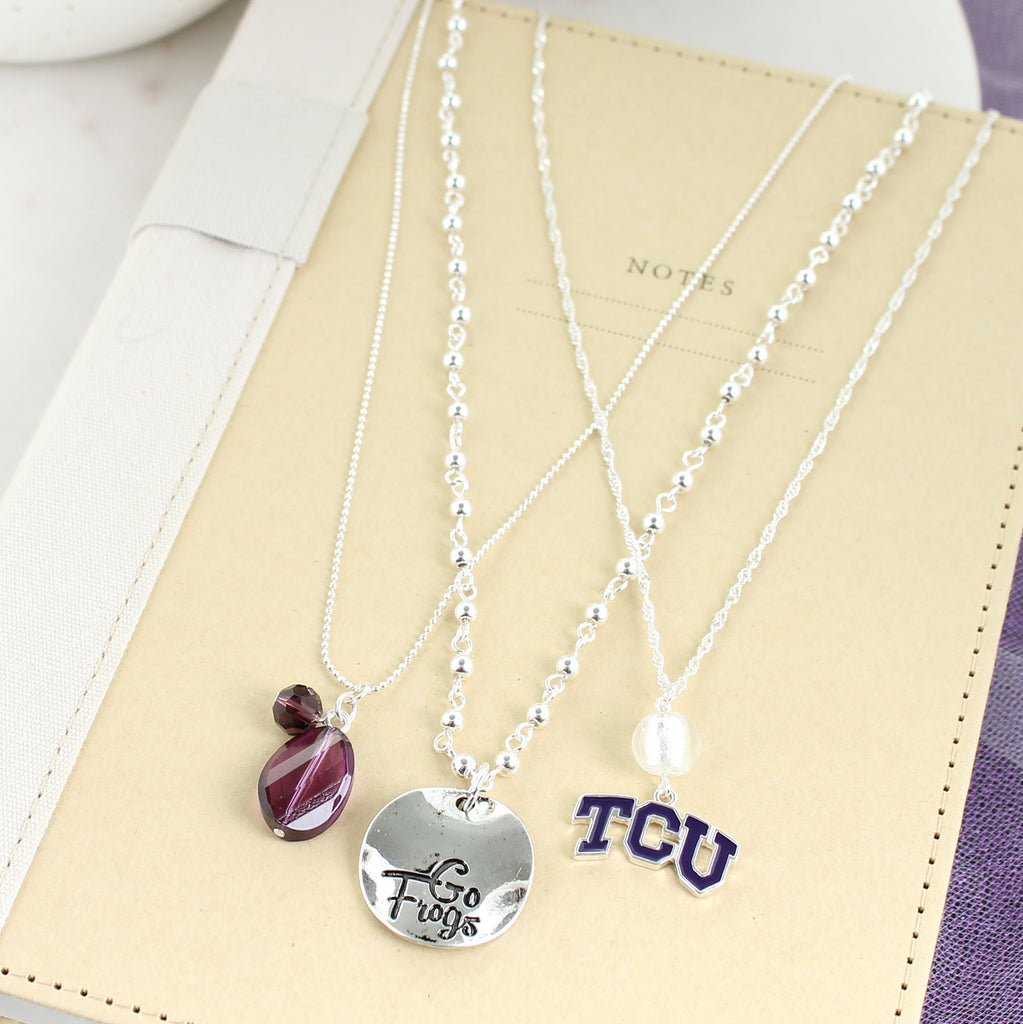 TCU Trio Necklace Set