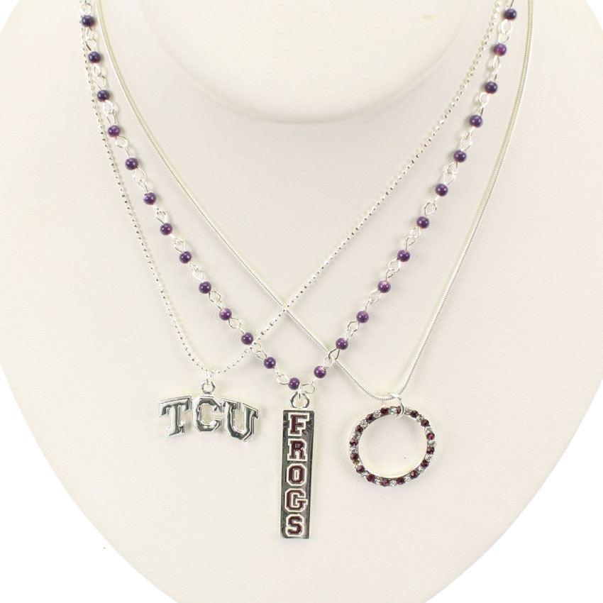 Seasons Jewelry TCU Trio Necklace