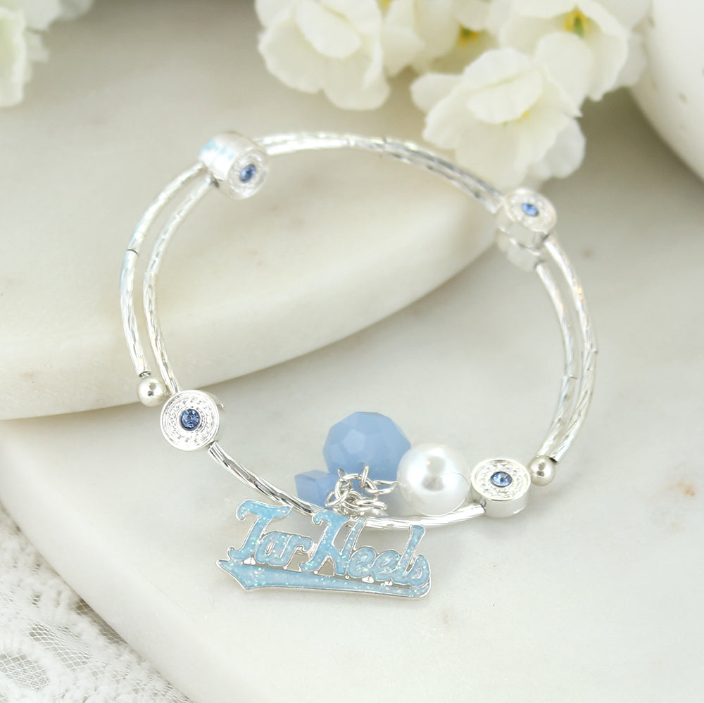 North Carolina Slogan Bracelet