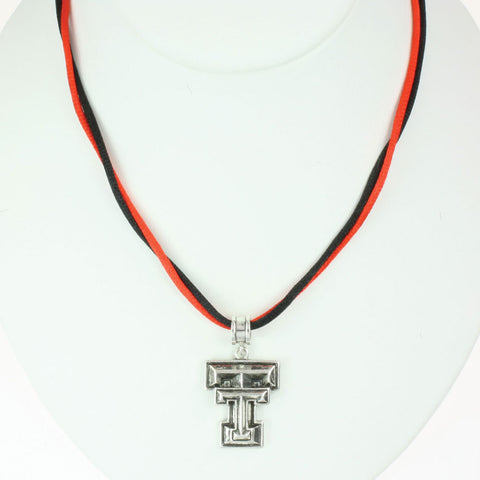 Seasons Jewelry Texas Tech Logo 16 inch Necklace