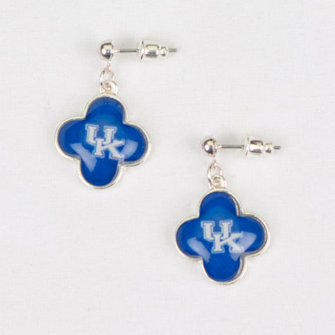 Seasons Jewelry Kentucky Quatrefoil Earrings