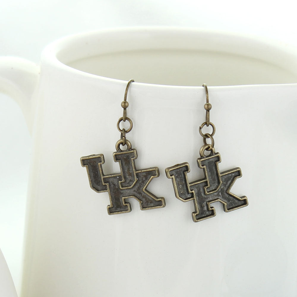 Kentucky Vintage Style Logo Earrings