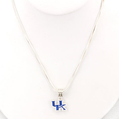 Kentucky Enamel Logo Necklace