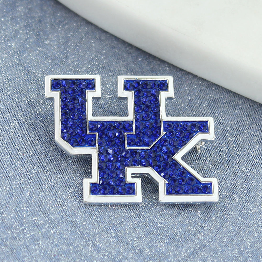 Kentucky Crystal Logo Pin