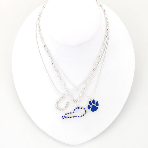 Kentucky Traditions Trio Necklace