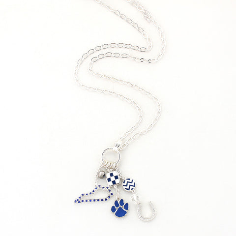 Kentucky Traditions Cluster Necklace