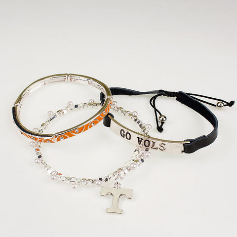 Tennessee Trio Bracelet Set