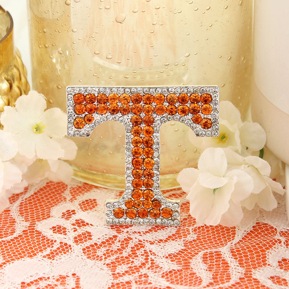 Tennessee Crystal Logo Pin
