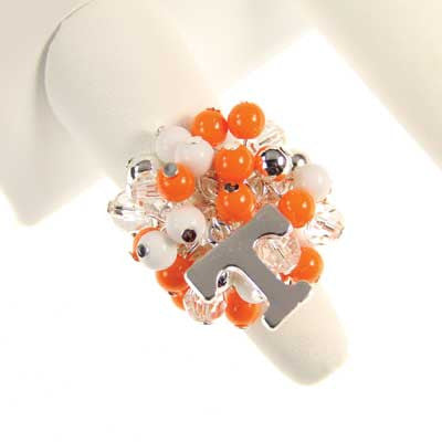 Seasons Jewelry Tennessee Logo Bauble Ring
