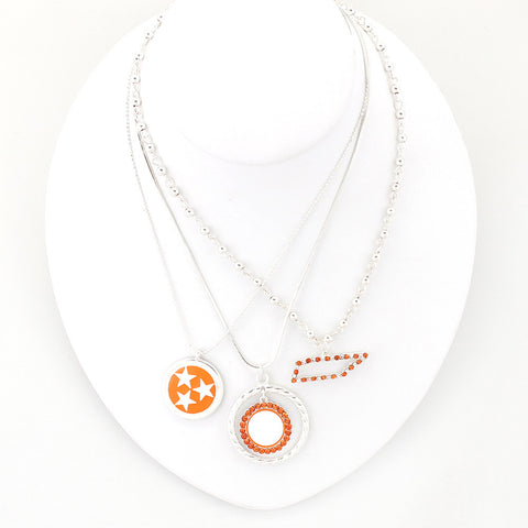 Tennessee Traditions Trio Necklace