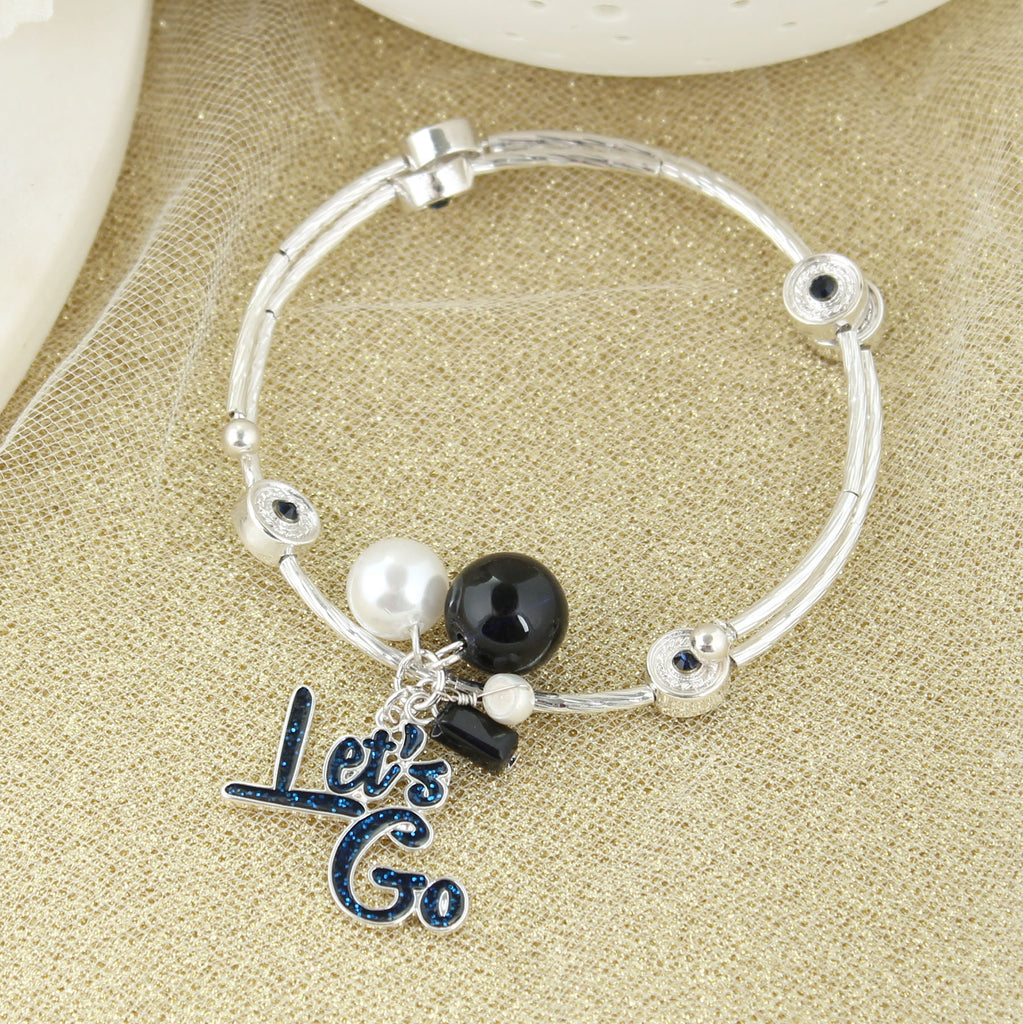 West Virginia Slogan Bracelet