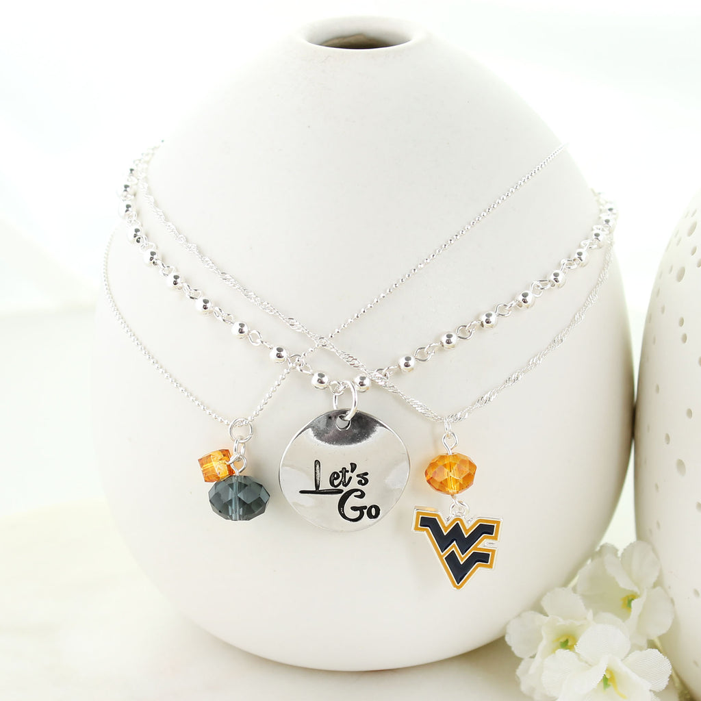 West Virginia Trio Necklace Set