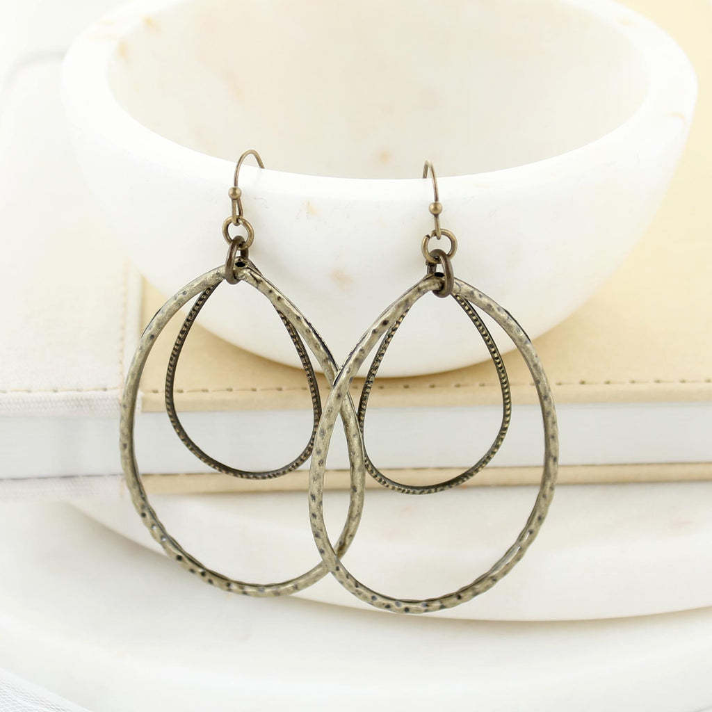 Vintage Teardrop Earrings