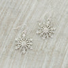 Crystal Snowflake Earrings