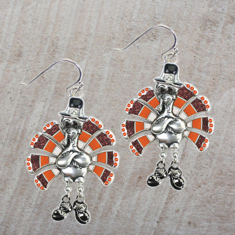 Seasons Jewelry Turkey Earrings