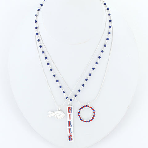 Buffalo Bills Trio Necklace Set