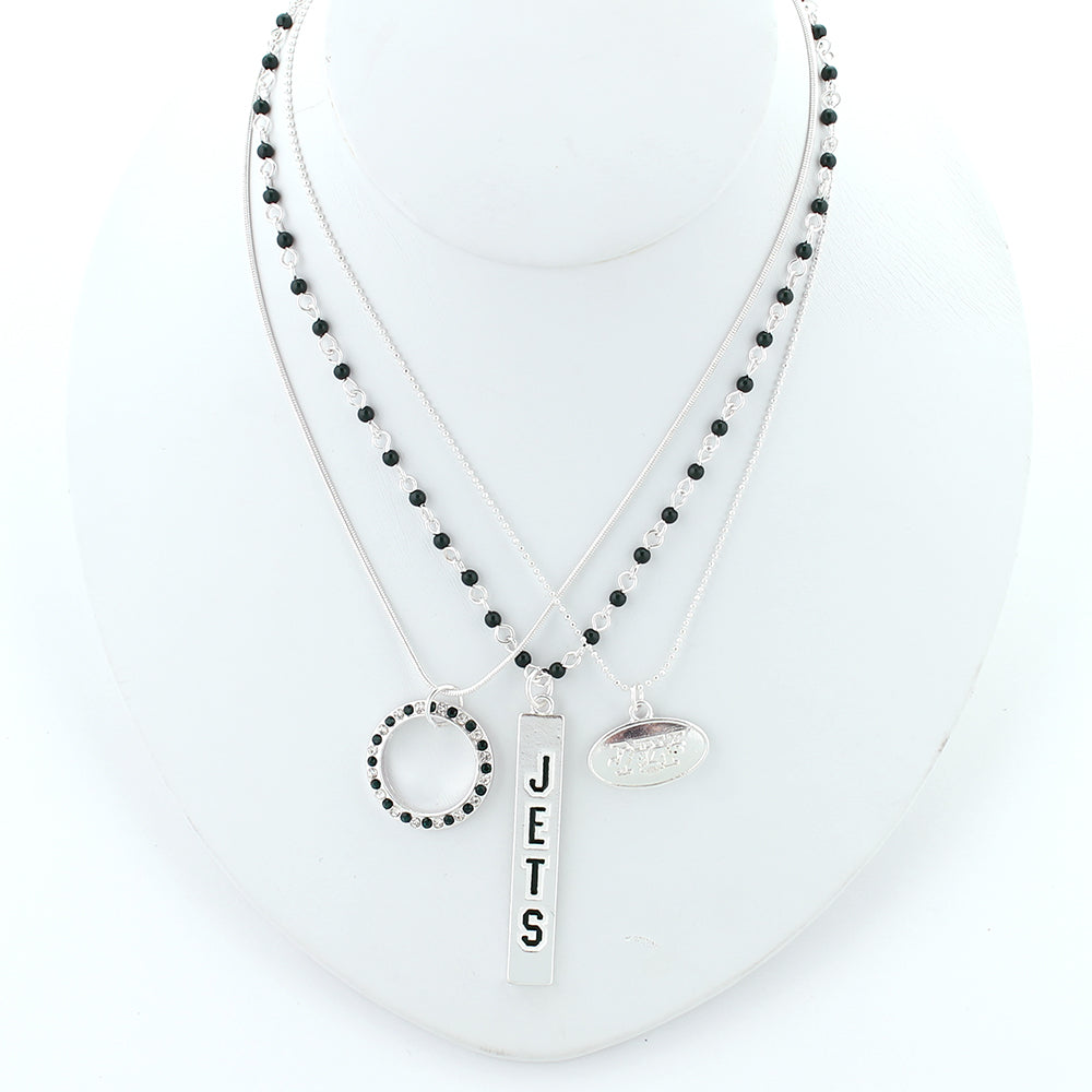 New York Jets Trio Necklace Set