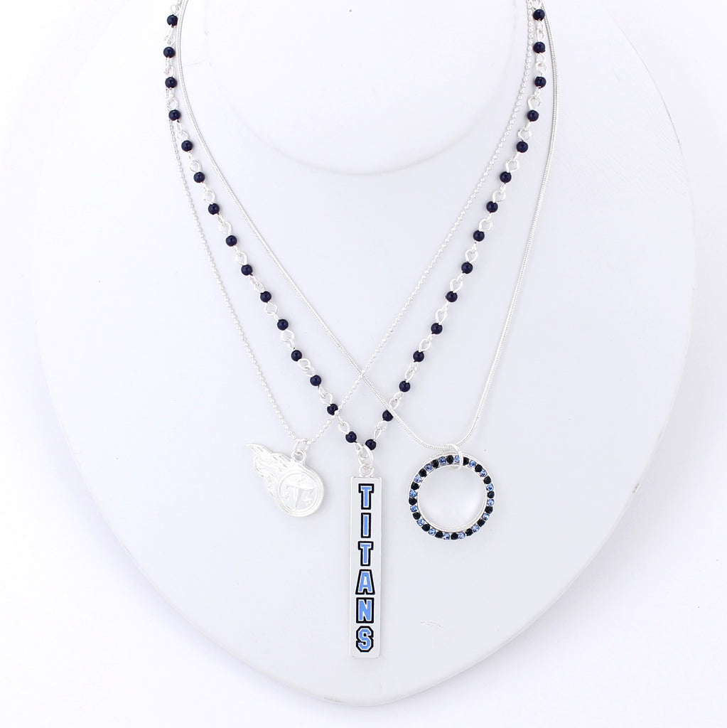 Tennessee Titans Trio Necklace Set