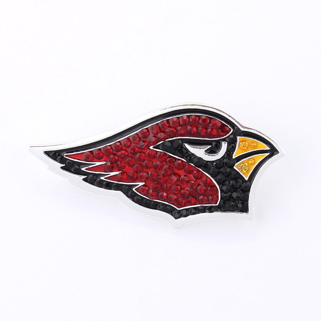 Arizona Cardinals Crystal Logo Pin